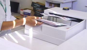 Impressão Digital Preto